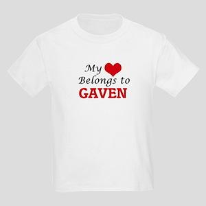 My heart belongs to Gaven T-Shirt
