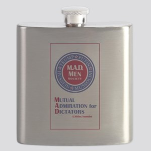 Trump Putin Mad Men Society Flask