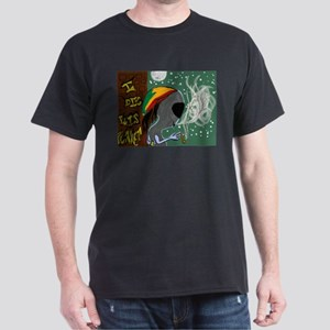 Rasta Alien - I Dig This Planet T-Shirt