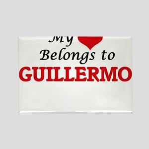 My heart belongs to Guillermo Magnets