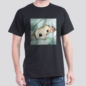 Napping Wire Fox Terrier Dark T-Shirt
