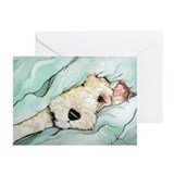 Wire fox terrier Greeting Cards (10 Pack)