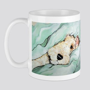 Napping Wire Fox Terrier Mug