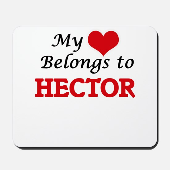 My heart belongs to Hector Mousepad