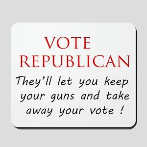 Vote Republican ? Mousepad