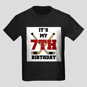 Hockey 7th Birthday Kids T-Shirt