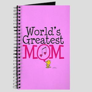 Woodstock - World's Greatest Mom Full Blee Journal