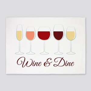 Wine & Dine 5'x7'Area Rug