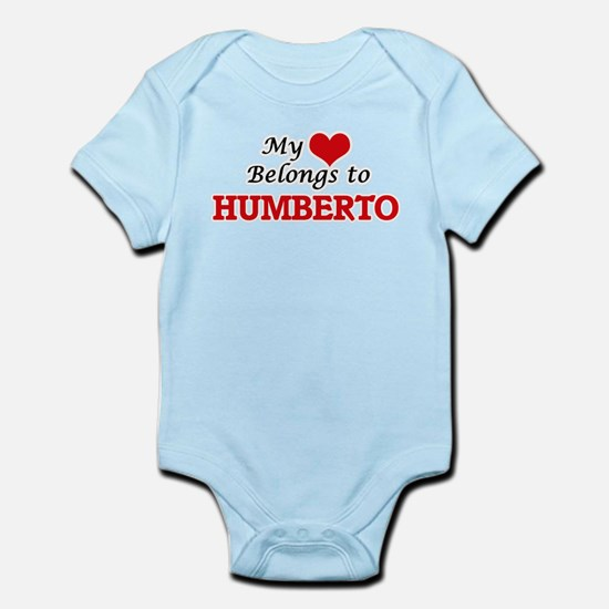 My heart belongs to Humberto Body Suit