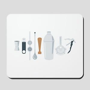 Bartender Mixing Tools Mousepad