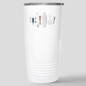 Bartender Mixing Tools Travel Mug