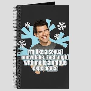 New Girl Schmidt Snowflake Journal