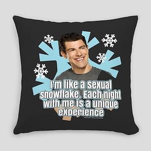 New Girl Schmidt Snowflake Everyday Pillow