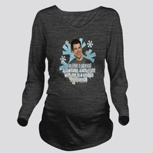New Girl Schmidt Sno Long Sleeve Maternity T-Shirt