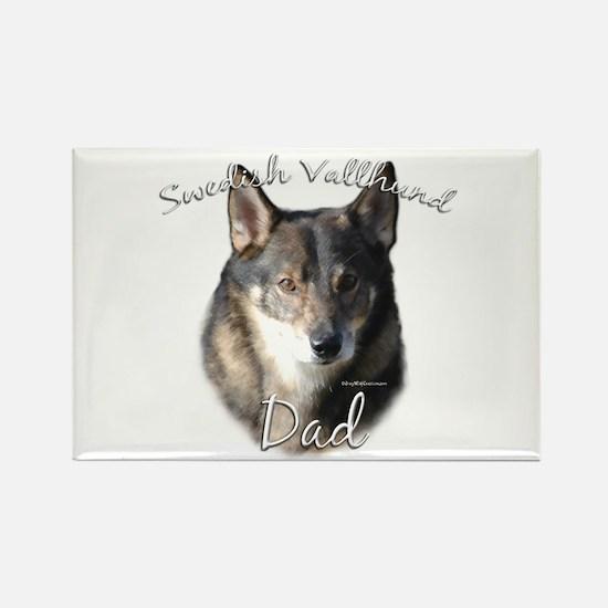 Vallhund Dad2 Rectangle Magnet (10 pack)