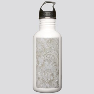 boho chic french lace Stainless Water Bottle 1.0L