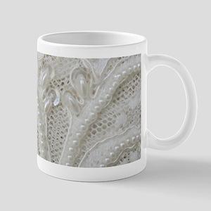 boho chic french lace Mugs