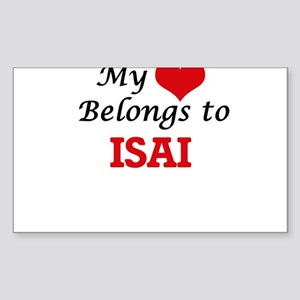 My heart belongs to Isai Sticker
