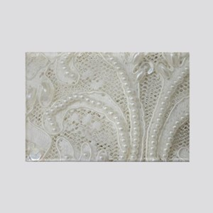 boho chic french lace Magnets