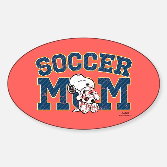 Snoopy Soccer Mom Full Bleed Decal