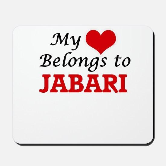 My heart belongs to Jabari Mousepad