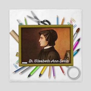 St. Elizabeth Ann Seton Queen Duvet