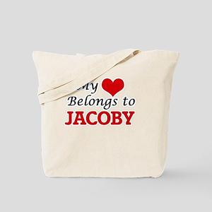 My heart belongs to Jacoby Tote Bag