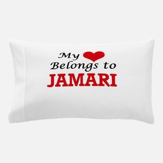 My heart belongs to Jamari Pillow Case