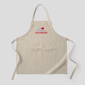 My heart belongs to Jamarion Apron