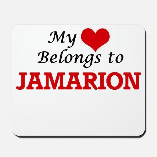 My heart belongs to Jamarion Mousepad