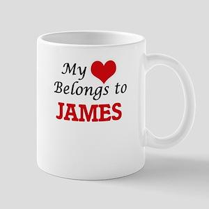 My heart belongs to James Mugs