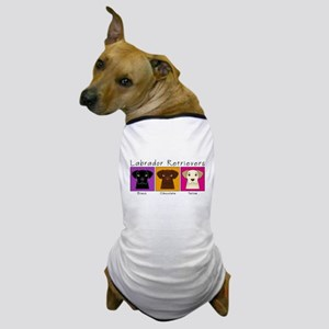 Three Labradors Bright Dog T-Shirt
