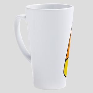 Mr Candy Corn 17 oz Latte Mug