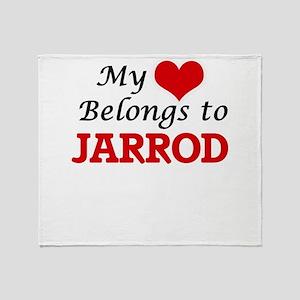 My heart belongs to Jarrod Throw Blanket