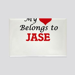 My heart belongs to Jase Magnets
