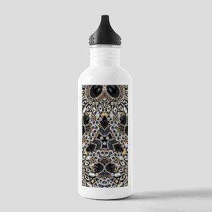 art nouveau black rhin Stainless Water Bottle 1.0L