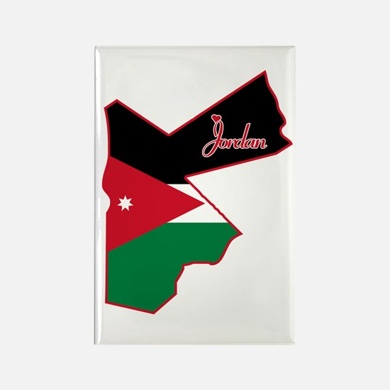 Cool Jordan Rectangle Magnet