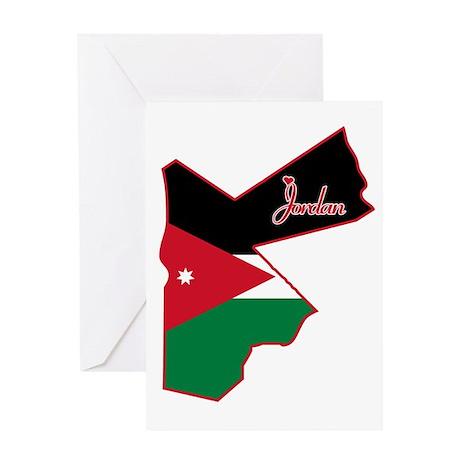 Cool Jordan Greeting Card