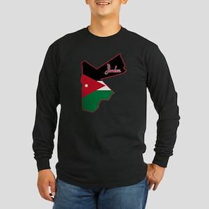 Cool Jordan Long Sleeve Dark T-Shirt