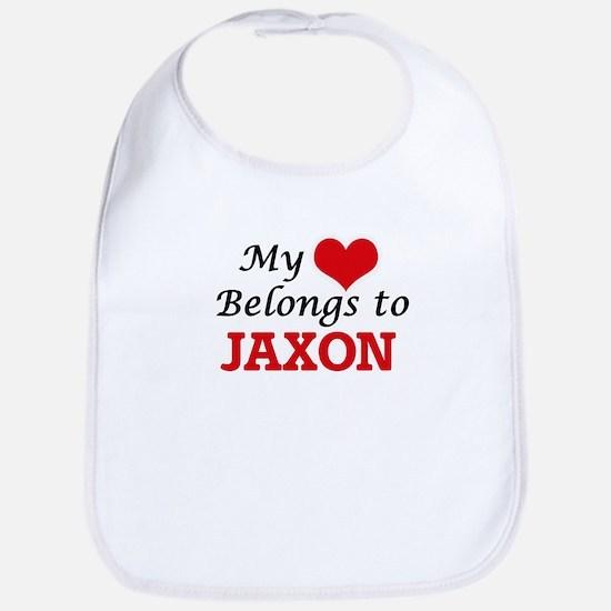 My heart belongs to Jaxon Bib