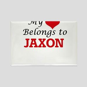 My heart belongs to Jaxon Magnets
