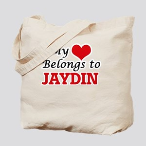 My heart belongs to Jaydin Tote Bag