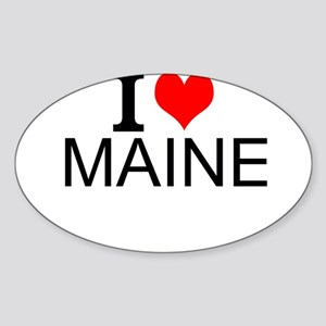I Love Maine Sticker