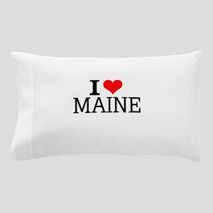 I Love Maine Pillow Case
