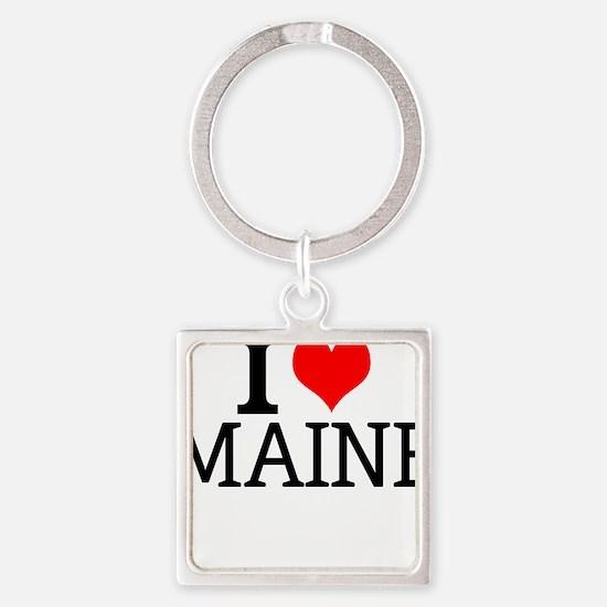 I Love Maine Keychains