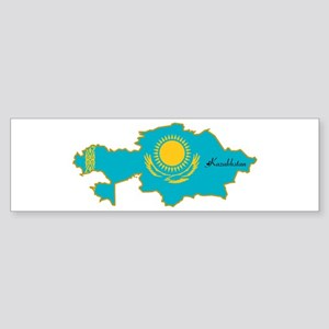 Cool Kazakhstan Bumper Sticker