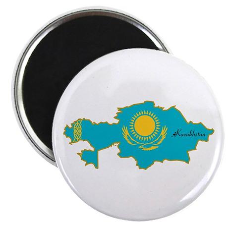 "Cool Kazakhstan 2.25"" Magnet (100 pack)"