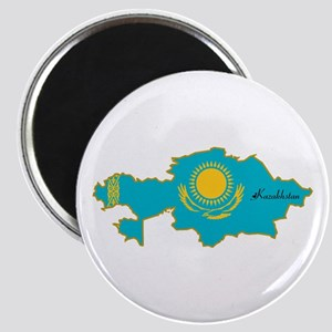 Cool Kazakhstan Magnet