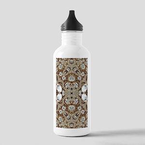 rose gold rhinestone b Stainless Water Bottle 1.0L