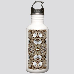 champagne gold rhinest Stainless Water Bottle 1.0L